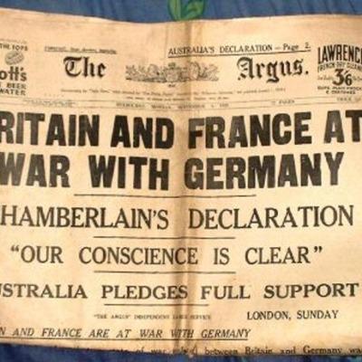 Ashleigh's World War II Timeline