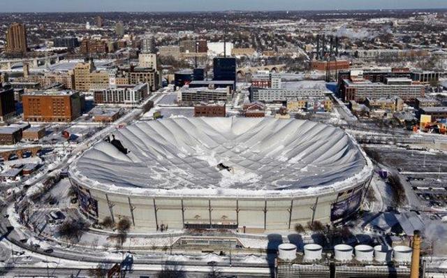 Giant blizzard in Minneapolis!