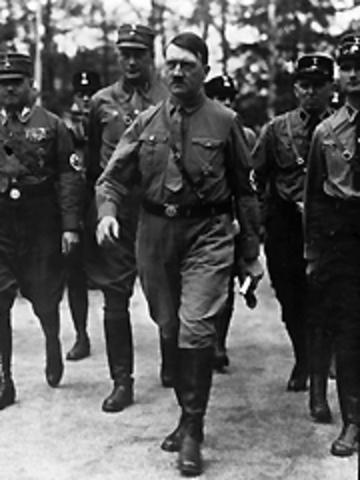 Adolf Hitler becomes leader