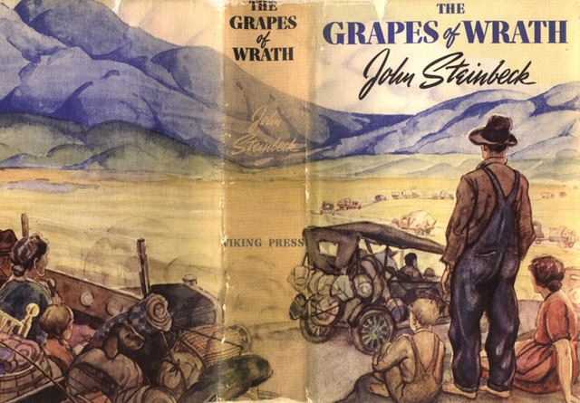 Grapes of Wrath by John Steinbeck is Published