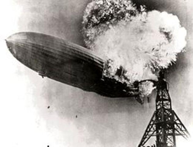 Hindenburg Crashes