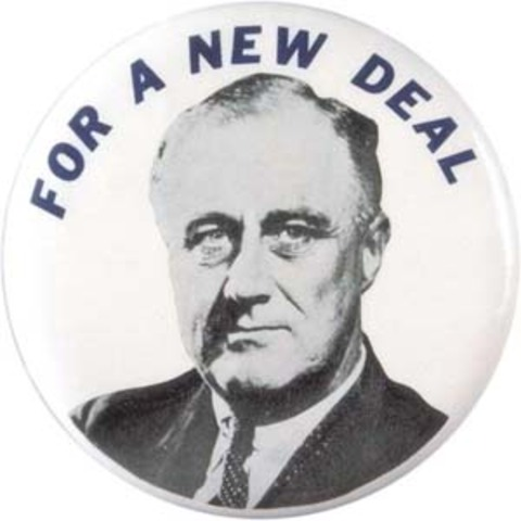 FDR was re-elected