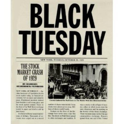 Black Tuesday (Stock Market Crash)