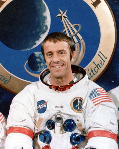Alan Shepard First US person to fly into space