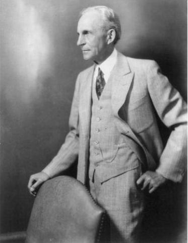 Henry Ford resigns