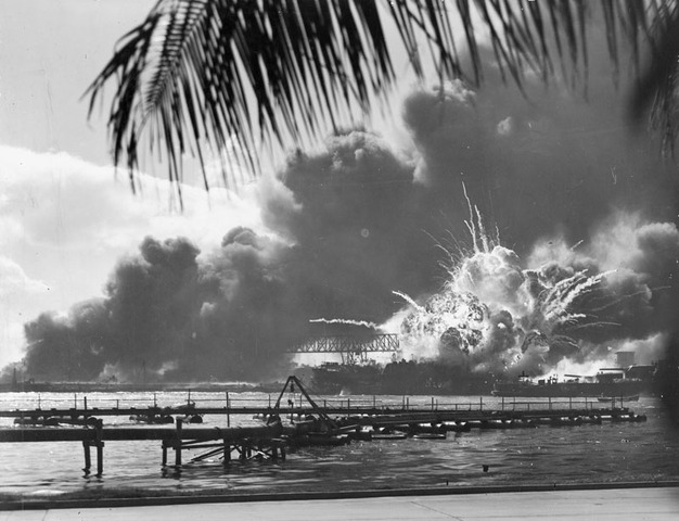 Pearl Harbor in Hawaii attacked by Japanese Naval and Air forces, US declares war on Japan, Germany and Italy declare war on the US -  Dec. 9