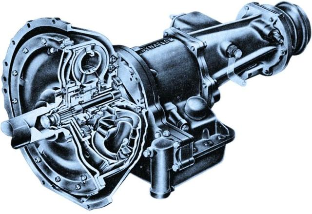 Dynaflow fully automatic gearbox