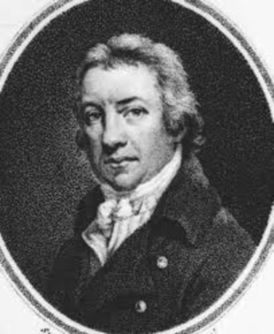 The first vaccinationagainst smallpox, by Edward Jenner in England