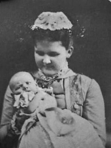 Wilhelmina geboren