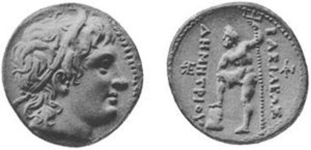 Demetrius I of Macedon, 294 Reigns over Macedonians