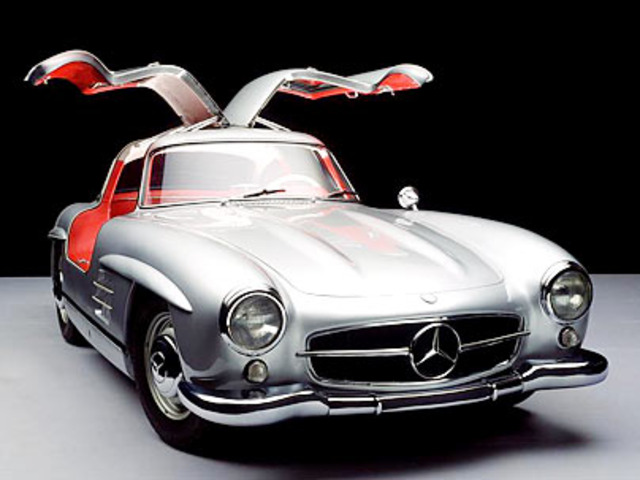 """""""gull wing"""" sports coupe"""