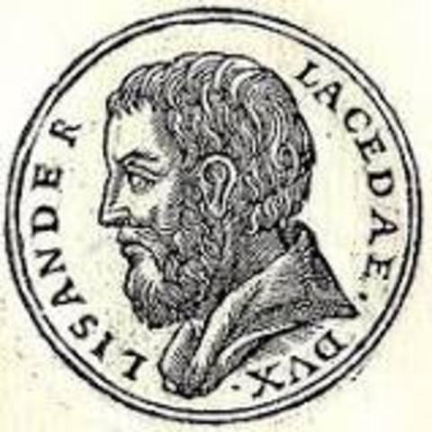 Lysandros, 405 Spartan Victor at Naval Battle of Aegospotami
