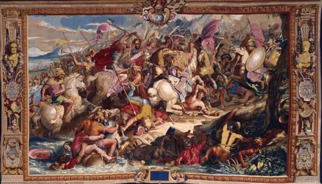 Memnon, 334 Defeat at Battle of Granikos