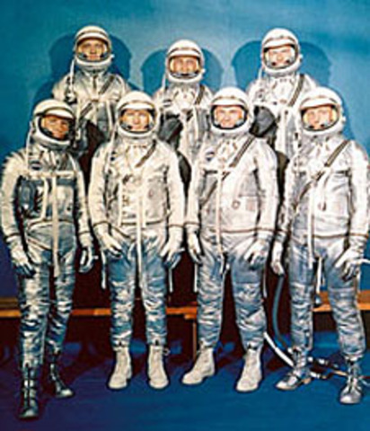 Mercury Program- First U.S program to send people to space