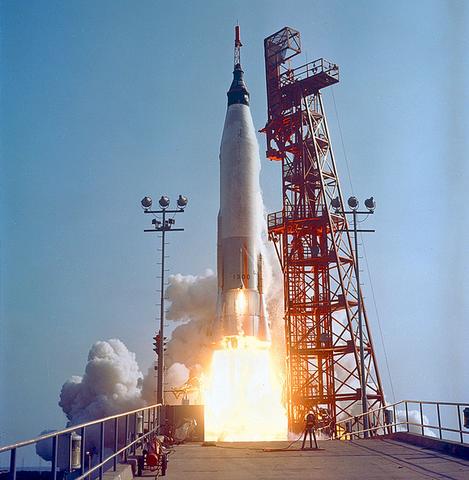 Last Mercury Flight Mercury-Atlas 9