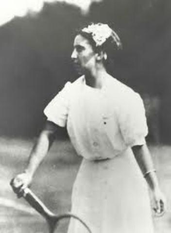 Hazel Wightman and Helen Wills
