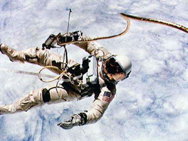 EVA- Walking in space