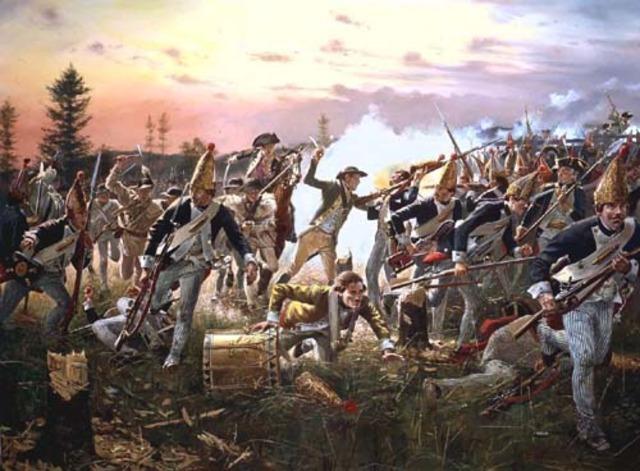 The Battle of Sartoga