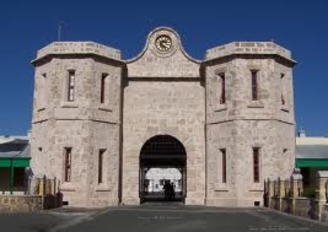 Fremantle Prison is completed