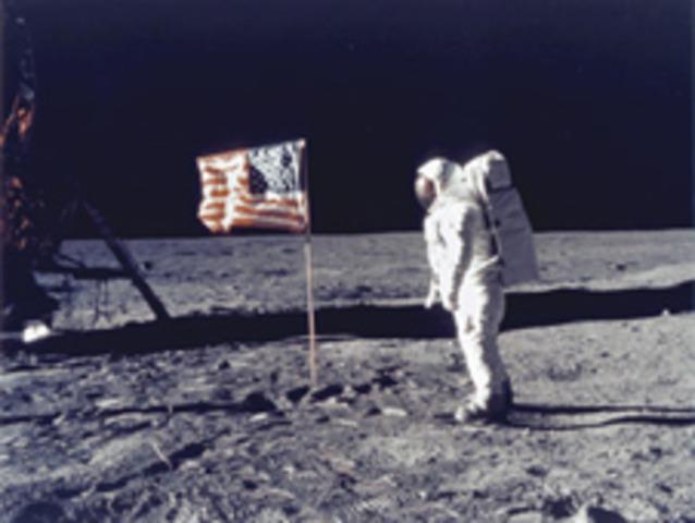 Apollo 11- man landing on the moon