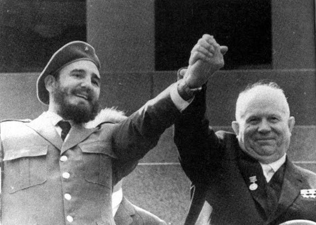 Castro and Khrushchev