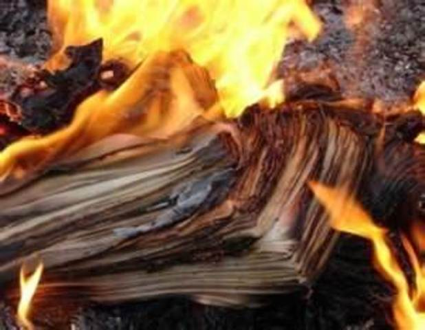 Burning Papers