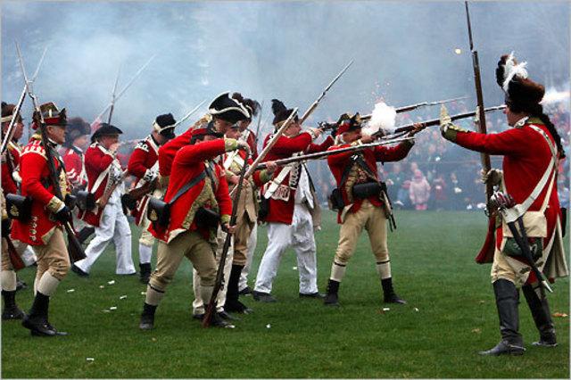 War began at Lexington and Concord