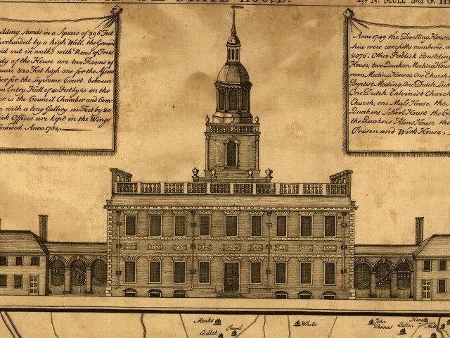 Pensylvania State House in Philadelphia