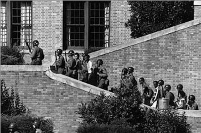 Little Rock High School Desegregation