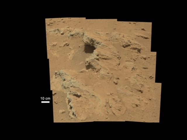 Water Flow Patterns Found On The Mars