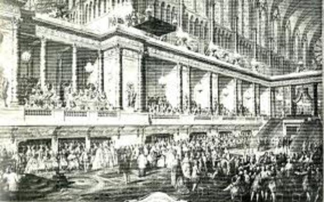 Coronación de Luis XVI.