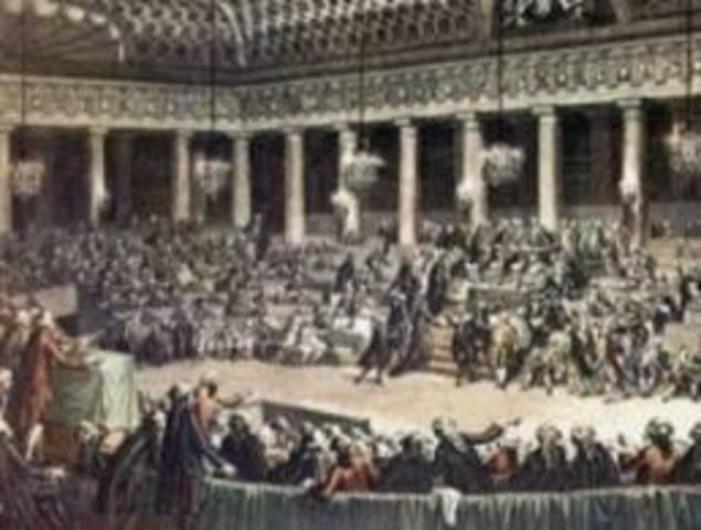 Calonne presenta propuestas de reformas a Luis XVI.