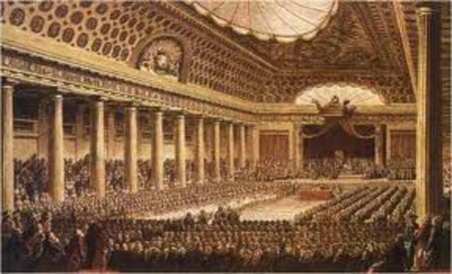 Reunión de la Asamblea de Notables.
