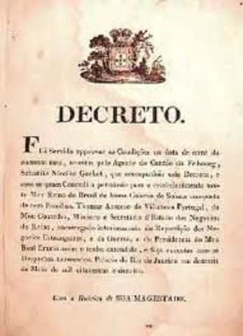 Decreto doblando la representación del Tercer Estado.