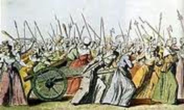 Marcha sobre Versalles......
