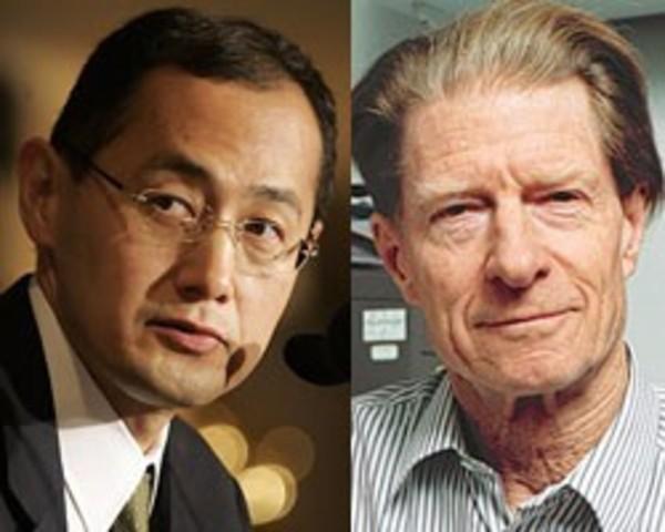 """Нобелевская премия по медицине или физиологии за 2012 год присуждена специалистам по клеточной биологии Джону Гердону и Синьи Яманаке за открытие того, что зрелые клетки могут быть """"перепрограммированы"""", чтобы стать плюрипотентными - способными развиватьс"""