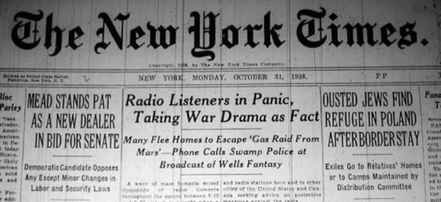 War of the Worlds Broadcast