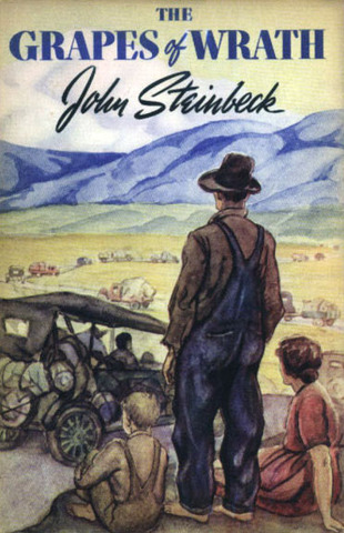 Grapes of Wrath by John Steinbeck, published