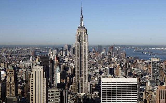 Empire State Building is completed