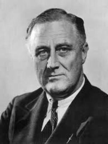 Franklin D. Roosevelt Elected
