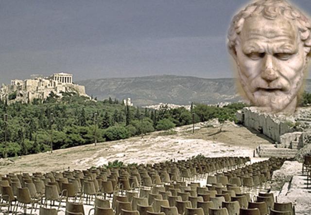 Demosthenes, 354 Becomes De Facto Head of Democratic Faction
