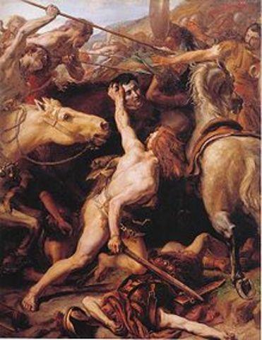 Flaminius, 217 Killed by Hannibal's Army in Ambush