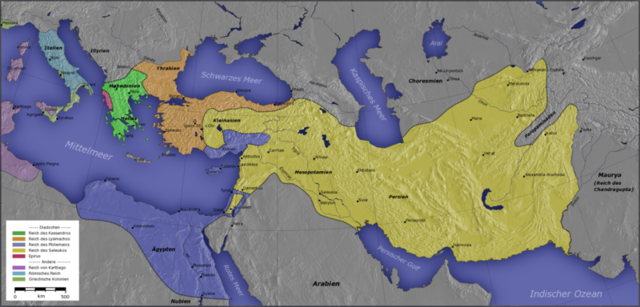 Lysimachus, 301 Assumes Antigonos One-eyed's Mantle