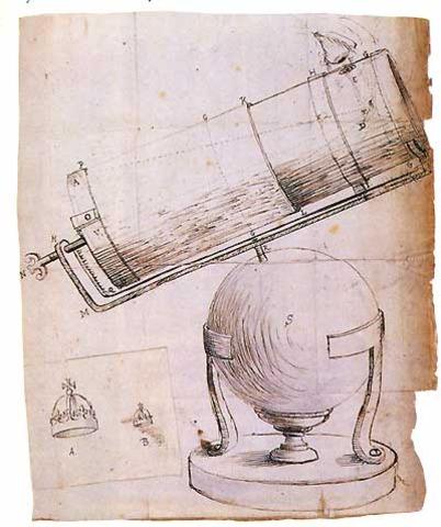 The reflective telescope