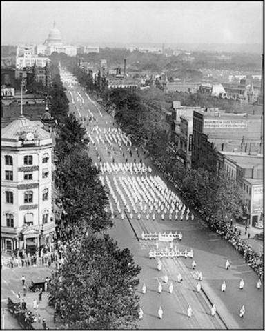 KKK 1928 D.C. March