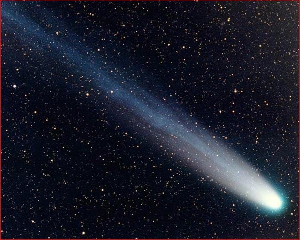 Brahe made careful observations of a comet