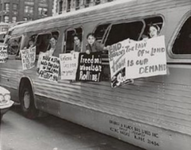 The Freedom Rides Begin