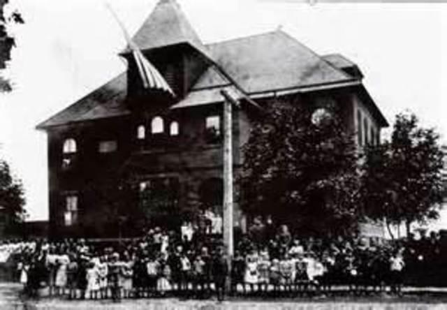 Boston's first public high school
