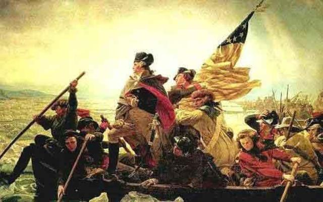 Patriots cross back over the Delaware River
