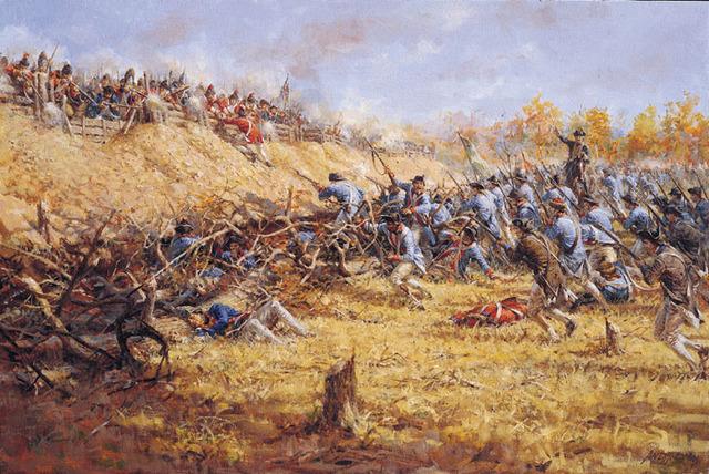 Americans at Saratoga